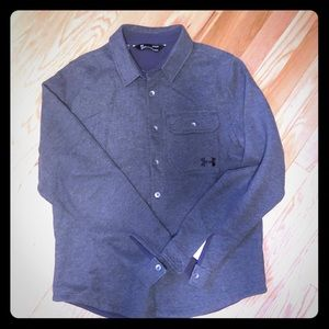Under Armour cold gear button down